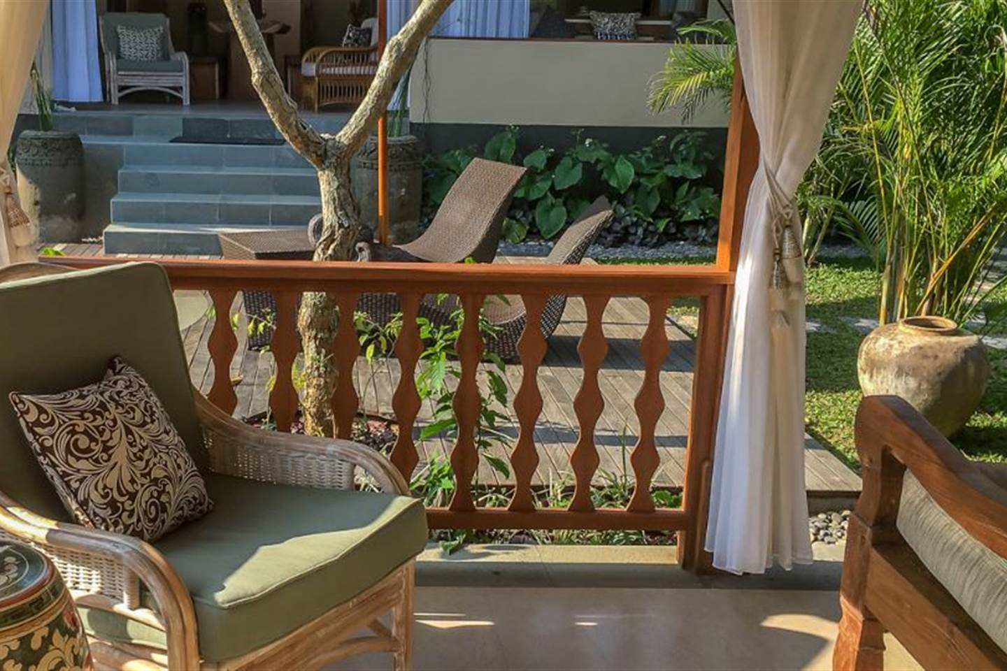 Private Villa Shanti  with Three Bedrooms