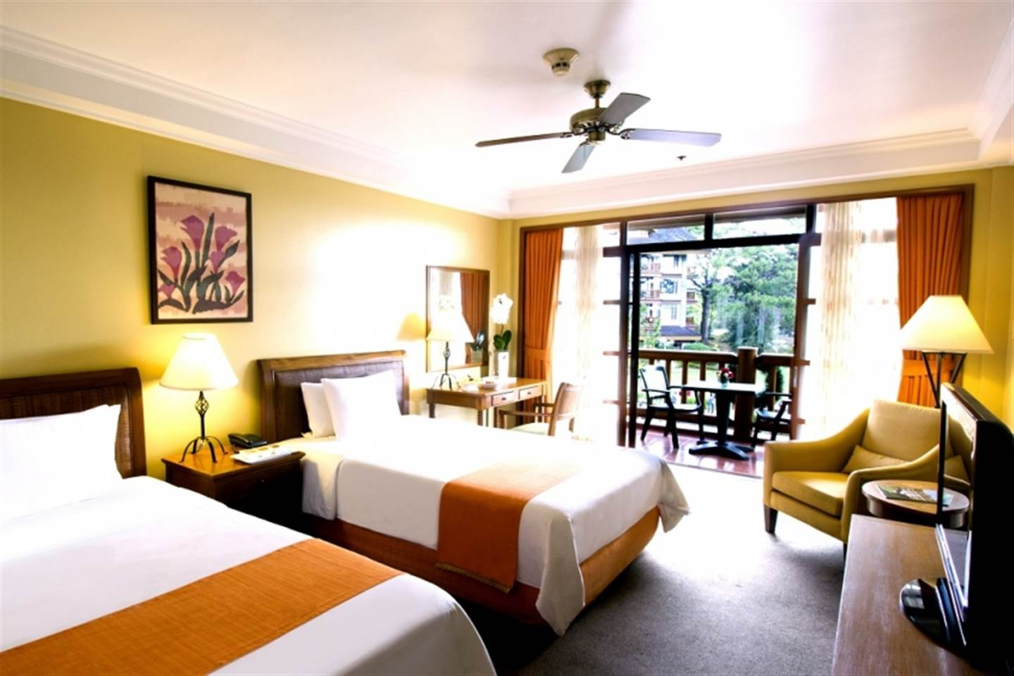 Breathtaking Forest View Deluxe Room 1